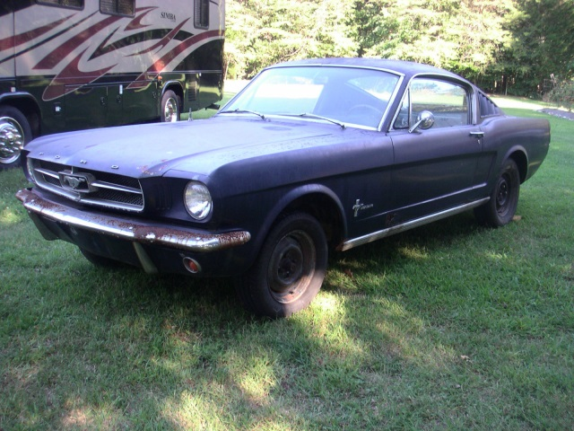 1965 Ford Mustang Fastback Project Car Old Car Shopper