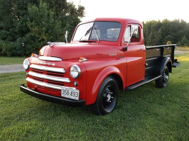 1948 Dodge 5 Window 1 Ton Truck B Series 126wb Old Car