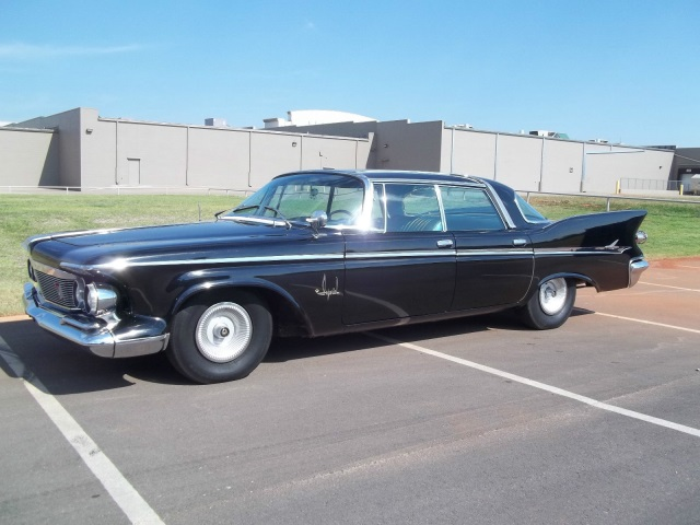 1961 Chrysler Imperial South Hampton Edition 4 door hardtop 24K actual miles