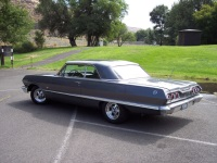 1963 Chevy Impala 2 Door New Interior Fresh 327ci Turbo 350