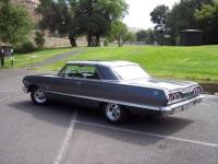 1963 Chevy Impala 2 Door New Interior Fresh 327ci Turbo 350