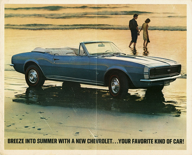 1967 Camaro advertisement