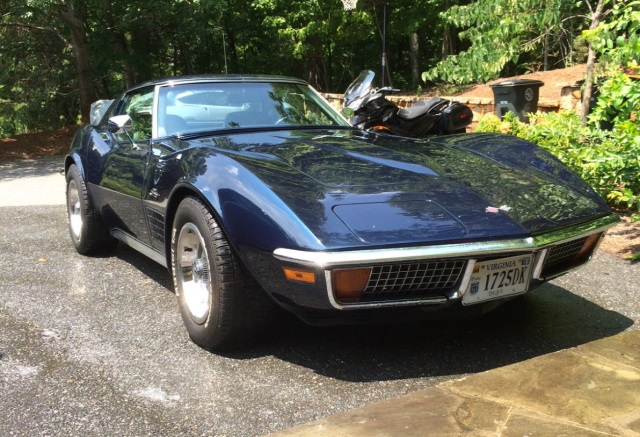1972 Corvette Stingray Coupe 350ci