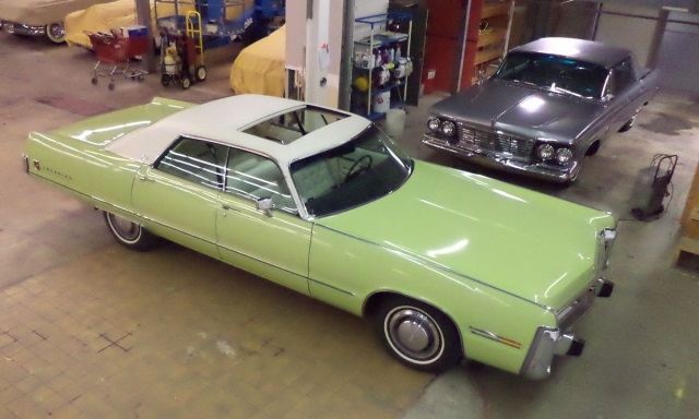 1973 Chrysler Imperial Super Low Miles Code Name Key Lime