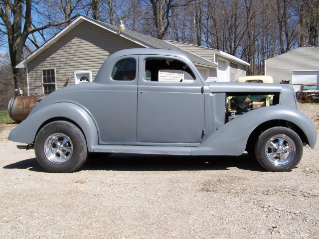 1935 plymouth coupe, 1935 34 33 32 rod gasser 302 at project