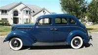 1937 FORD MODEL 60 ONLY 51,624 MILES
