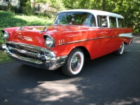 1957 Chevrolet Bel Air/150/210 Chevy Wagon