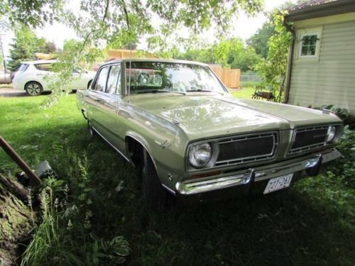 1968 Plymouth Valiant Signet 3.7L