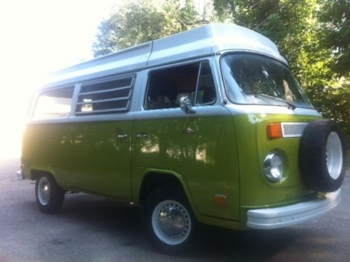 1976 VW WESTFALIA RIVIERA KOMBI CAMPER- AUTOMATIC! POP TOP