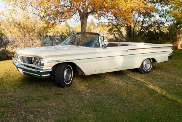 1960 Pontiac Catalina Convertible Old Car Shopper