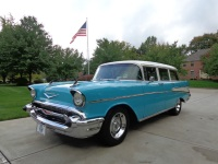 ABSOLUTELY GORGEOUS 1957 Chevy Wagon Model 210