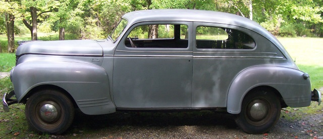 Partially Restored 1941 Plymouth 2 Door Sedan Original