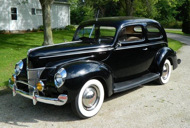 Ford Deluxe 1940 Ford Deluxe Sedan Old Car Shopper