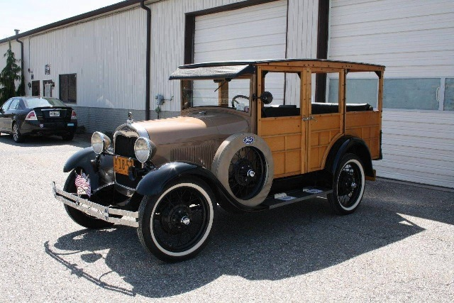 1929 Ford Model A Station Wagon