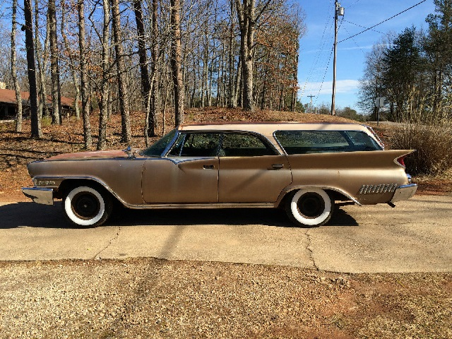 1961 Chrysler New Yorker Station Wagon Old Car Shopper