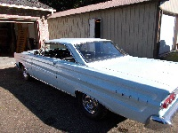 1964 Mercury Comet Cyclone – 4-speed and 289