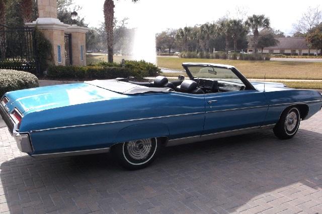 1969 Pontiac Bonneville Convertible