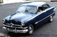 Wow – 1950 Ford Tudor Test Drive!