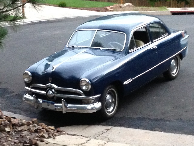 "My 1950 Ford ""Tudor"""
