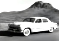 Vintage Road Test Of A 1950 Ford