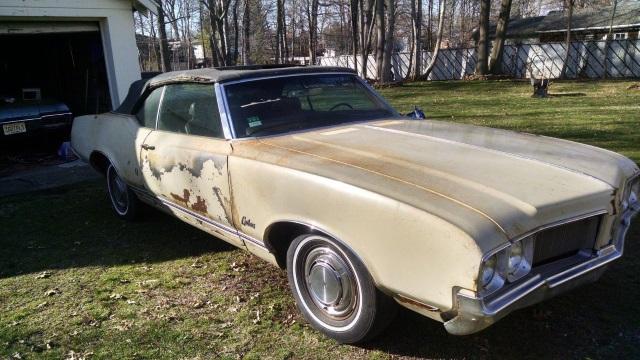 1970 Oldsmobile Cutlass Cutlass Supreme convertible