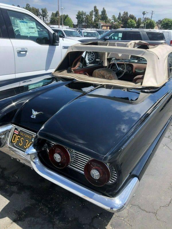 1959 Thunderbird convertible