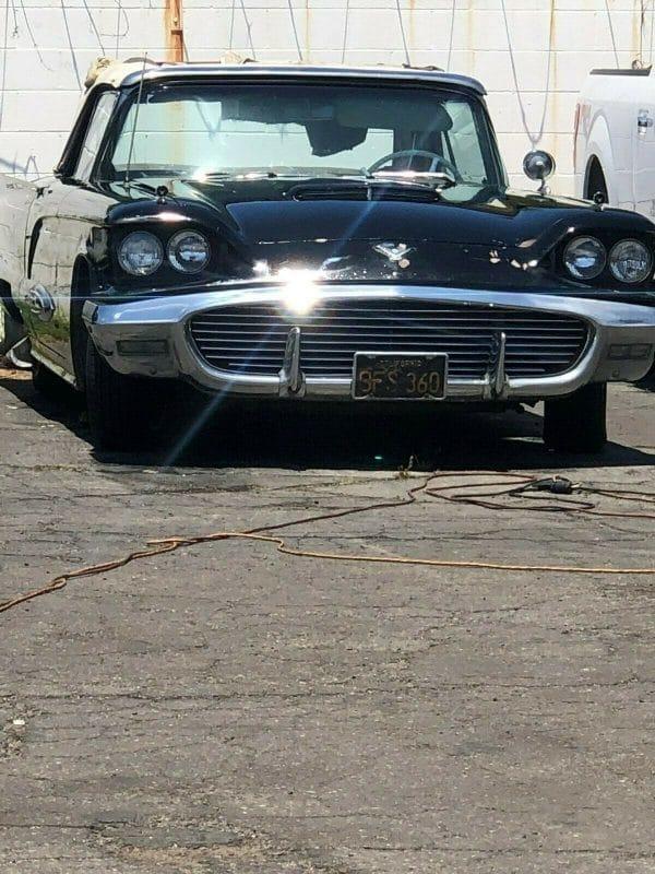 1959 Thunderbird convertible front