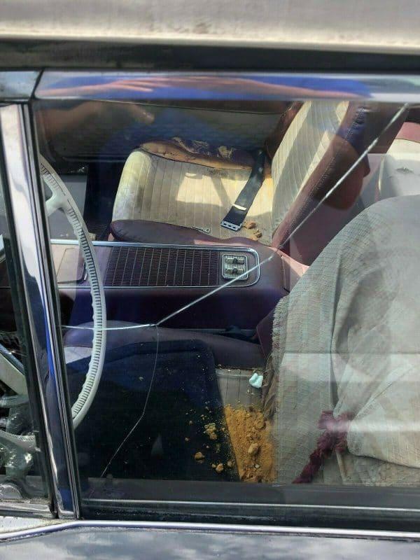 1959 Thunderbird convertible interior