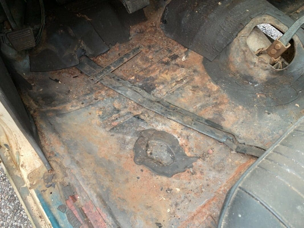 1966 Chevelle SS 396 floorboards