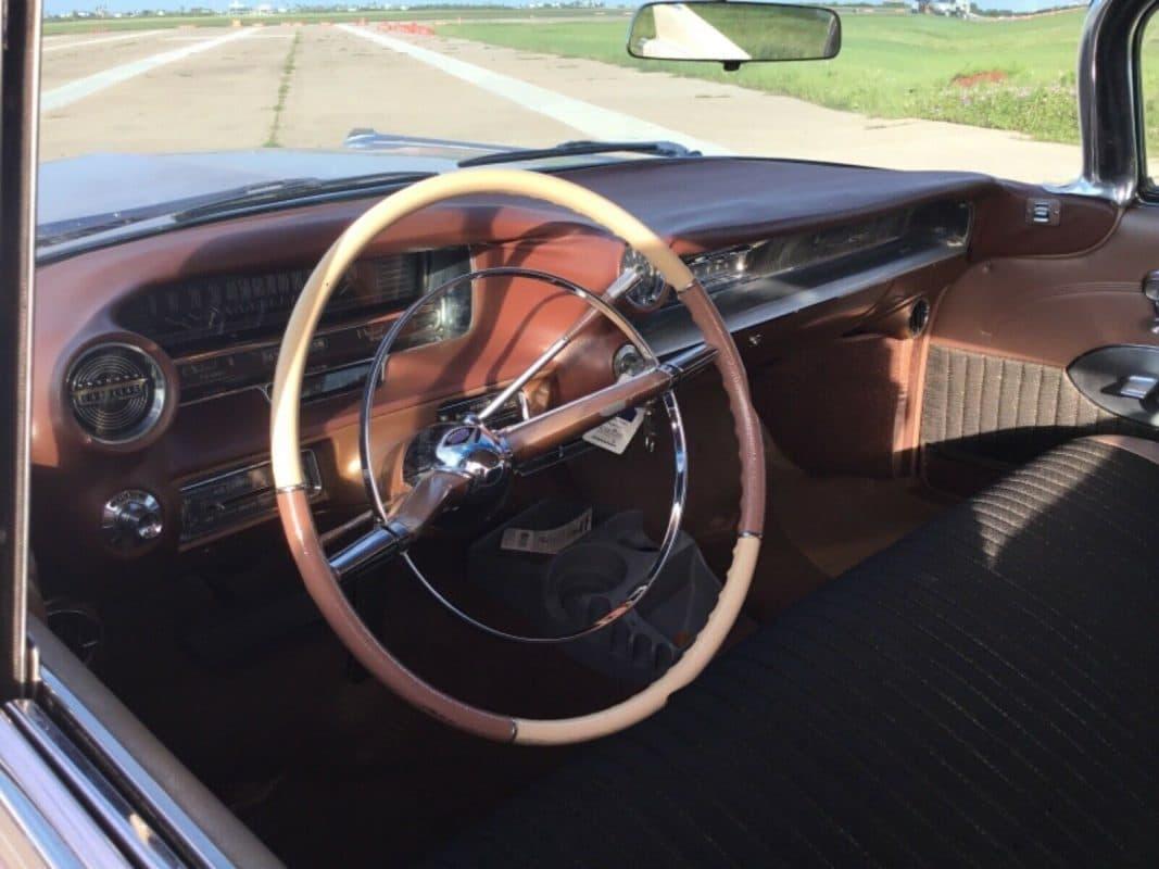 1959 Cadillac Interior