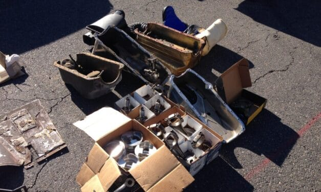 Where to Find Vintage Car Parts