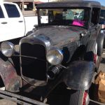 1931 Ford Model A at 2017 swap meet at Bandimere Speedway